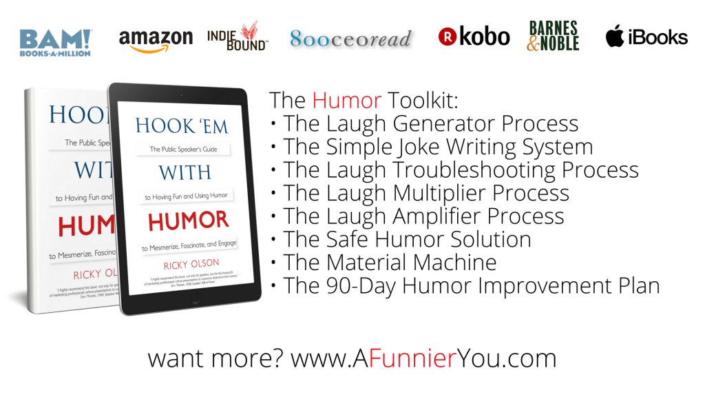 Hook 'em with Humor Book