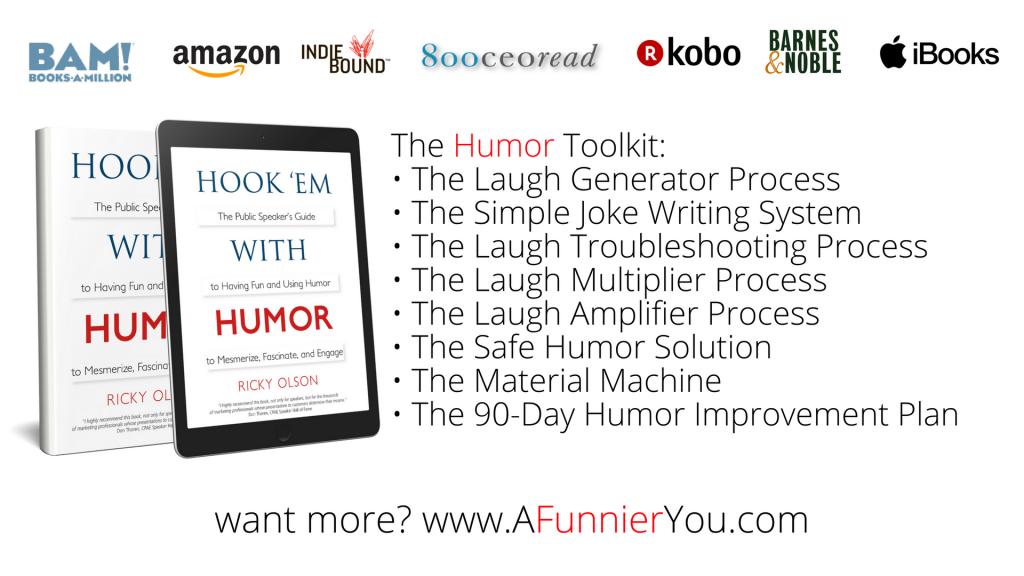 Hook 'em with Humor Book