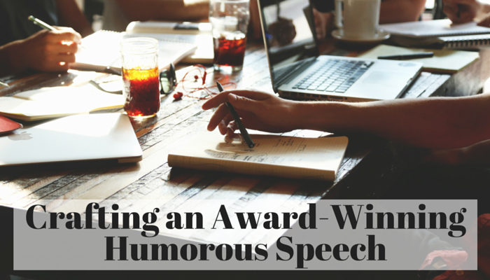 Copy of Crafting an Award Winning Humorous
