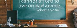 Don't Take Advice